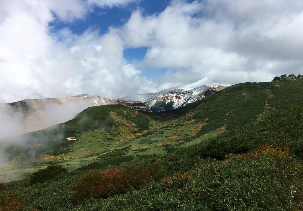富良野岳途中まで^^;_e0326953_23562551.jpg