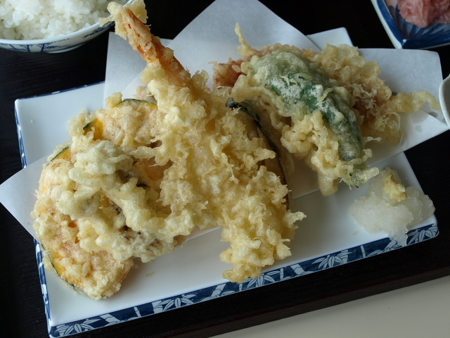 旬鮮厨房 三浦や その27 (天ぷら定食)_d0153062_20435563.jpg