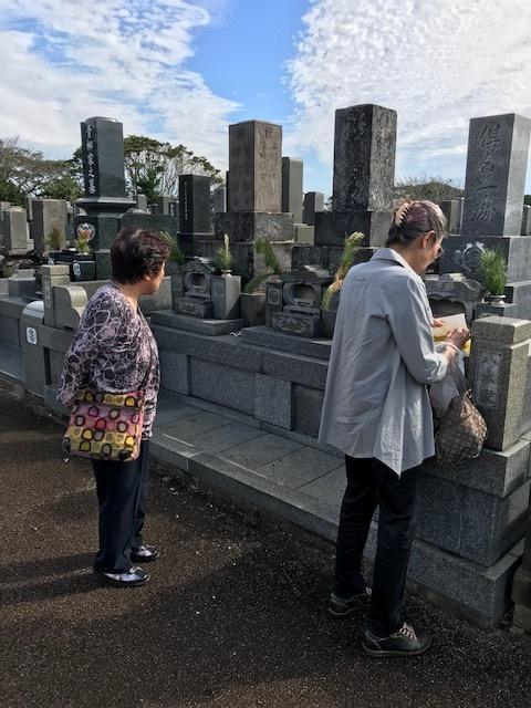 彼岸入り前に墓参りのために帰省9・18~19_c0014967_07314533.jpg