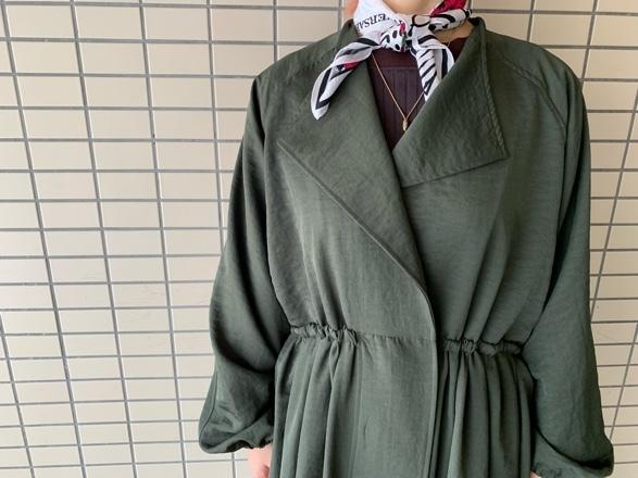 CHIGNONSTAR☆ギャザーCoat☆_e0269968_16034008.jpg