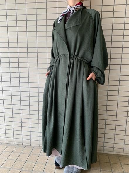 CHIGNONSTAR☆ギャザーCoat☆_e0269968_16034917.jpg