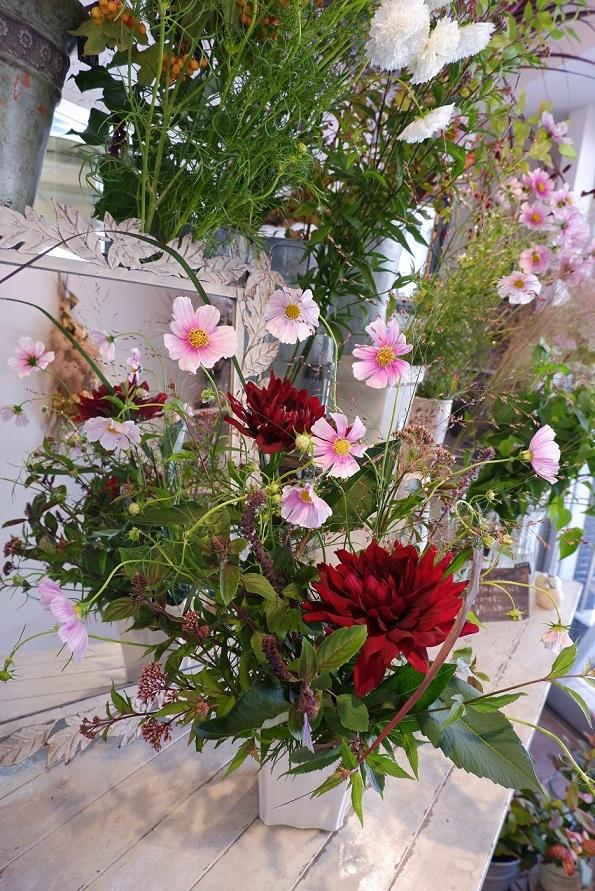 オークリーフ花の教室(須藤さんの作品)_f0049672_17014764.jpg