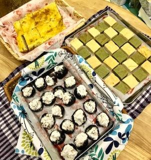 お豆腐抹茶&お豆腐ヨーグルト焼き菓子_c0031486_14554603.jpg