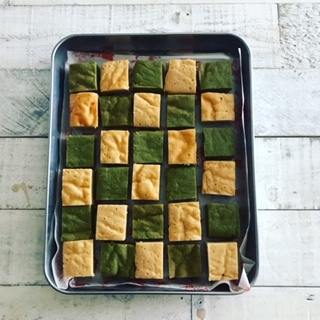 お豆腐抹茶&お豆腐ヨーグルト焼き菓子_c0031486_14565935.jpg