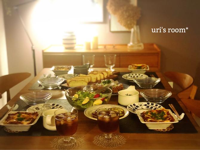 手抜きしたのにやたら豪華になった食卓ヽ(´▽`)/_a0341288_00150561.jpg