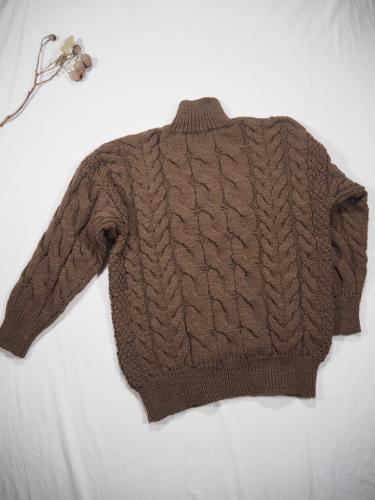 LENO Big Cable Sweater_e0357389_11162757.jpg