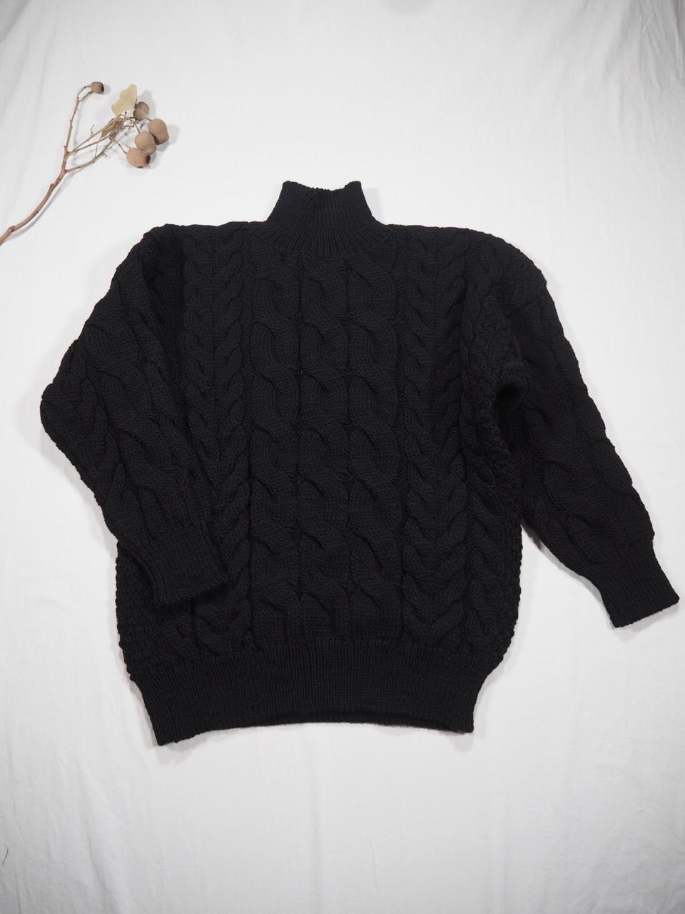 LENO Big Cable Sweater_e0357389_11162895.jpg