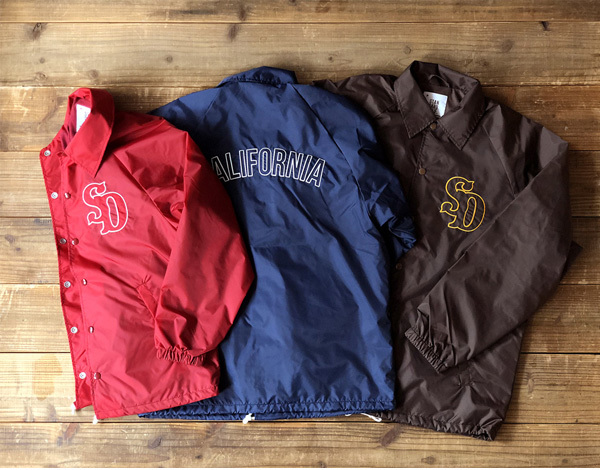 【DELIVERY】 STANDARD CALIFORNIA - Coach Jacket Type3_a0076701_16002182.jpg