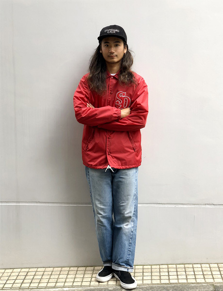 【DELIVERY】 STANDARD CALIFORNIA - Coach Jacket Type3_a0076701_16003196.jpg