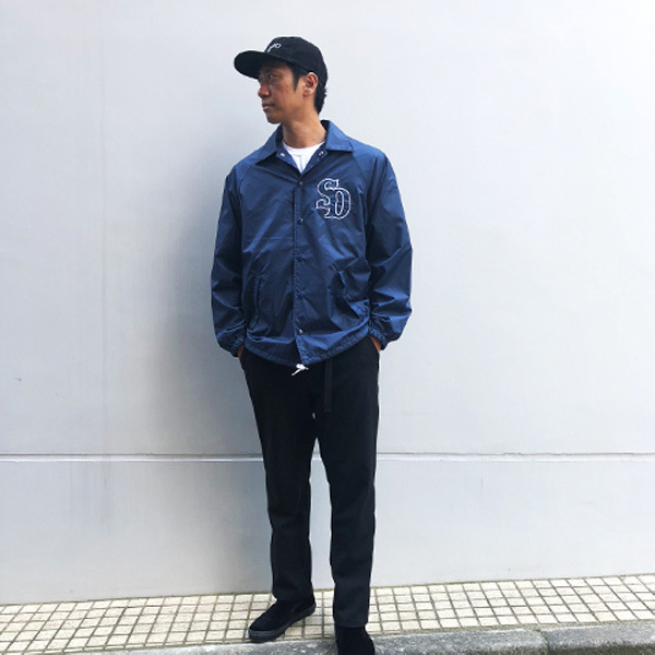 【DELIVERY】 STANDARD CALIFORNIA - Coach Jacket Type3_a0076701_16003937.jpg