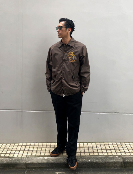 【DELIVERY】 STANDARD CALIFORNIA - Coach Jacket Type3_a0076701_16004793.jpg