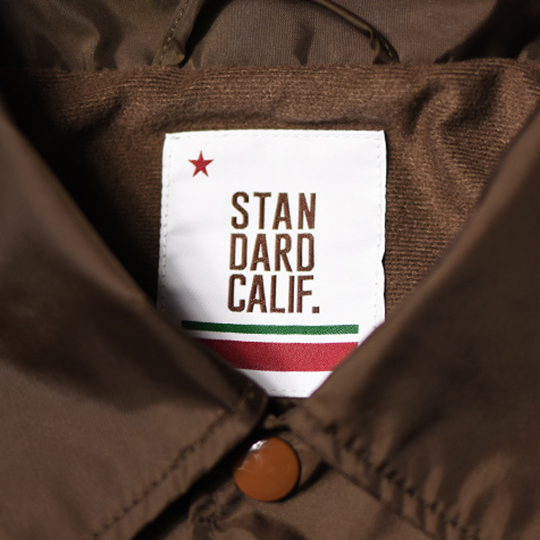 【DELIVERY】 STANDARD CALIFORNIA - Coach Jacket Type3_a0076701_16012621.jpg