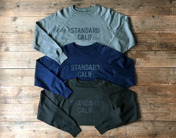 【DELIVERY】 STANDARD CALIFORNIA - Reversible Pima Cotton Sweat_a0076701_16260500.jpg