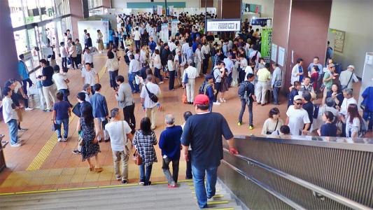 「米と酒 魚沼の陣」が浦佐駅で開催されました_c0336902_11005950.jpg