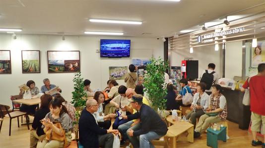 「米と酒 魚沼の陣」が浦佐駅で開催されました_c0336902_11040875.jpg