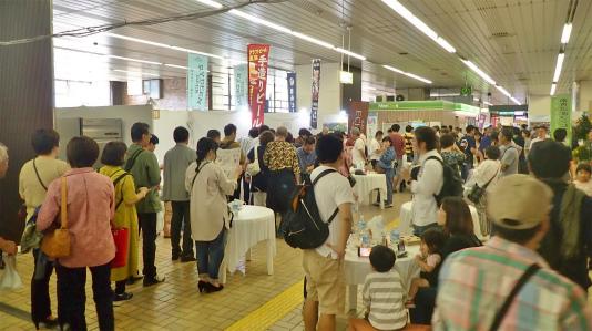 「米と酒 魚沼の陣」が浦佐駅で開催されました_c0336902_11041203.jpg