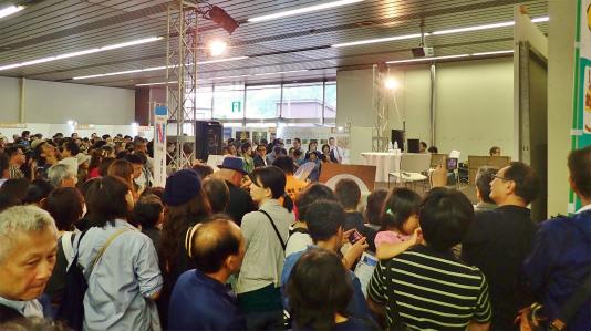 「米と酒 魚沼の陣」が浦佐駅で開催されました_c0336902_11042298.jpg