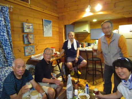 2019年9月6-7日山中湖大倉山荘ベースにキノコ狩り、バーベキュー_c0242406_12322444.jpg