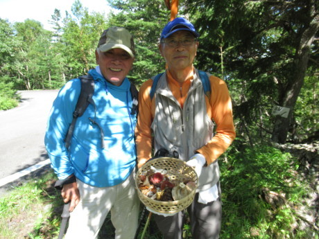 2019年9月6-7日山中湖大倉山荘ベースにキノコ狩り、バーベキュー_c0242406_13143751.jpg