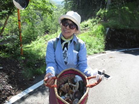 2019年9月6-7日山中湖大倉山荘ベースにキノコ狩り、バーベキュー_c0242406_13150695.jpg