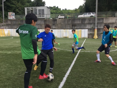 ゆるUNO 9/22(日) at UNOフットボールファーム_a0059812_12584136.jpg