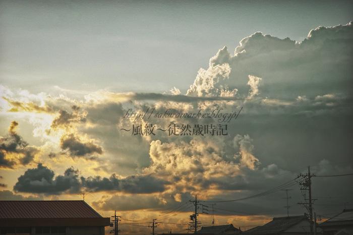 夏が居座る夕暮れ。_f0235723_20333440.jpg