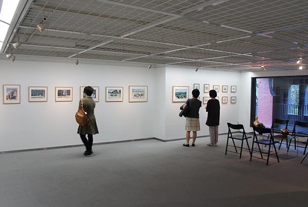おとんの絵展 開催中です。_f0171840_10285237.jpg