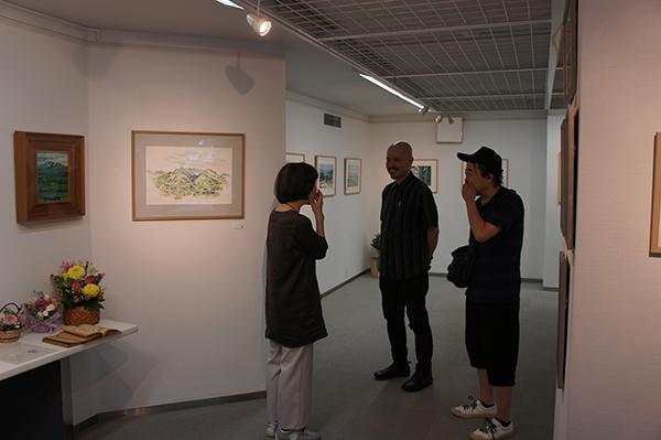 おとんの絵展 開催中です。_f0171840_11311803.jpg