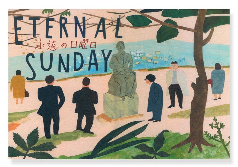 展示のお知らせ 「 ETERNAL SUNDAY    永遠の日曜日 」 gallery DAZZLE_a0052641_20584456.jpg