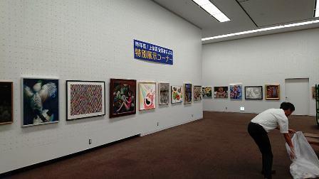 作業日誌(「第15回世界絵画大賞展」作品展示作業)_c0251346_15044847.jpg