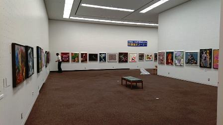 作業日誌(「第15回世界絵画大賞展」作品展示作業)_c0251346_15045584.jpg