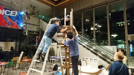 作業日誌(「藝大アーツイン丸の内2019」作品搬入作業)_c0251346_15432093.jpg