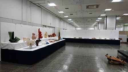 作業日誌(「第25回日本陶芸展九州展」作品搬入展示作業)_c0251346_16063307.jpg