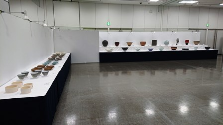 作業日誌(「第25回日本陶芸展九州展」作品搬入展示作業)_c0251346_16064732.jpg
