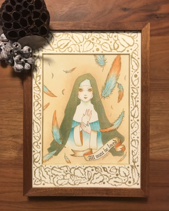 「修道女の伝説」展(東京初台・Zaroff)、今日からスタートです。_f0228652_22561264.jpeg
