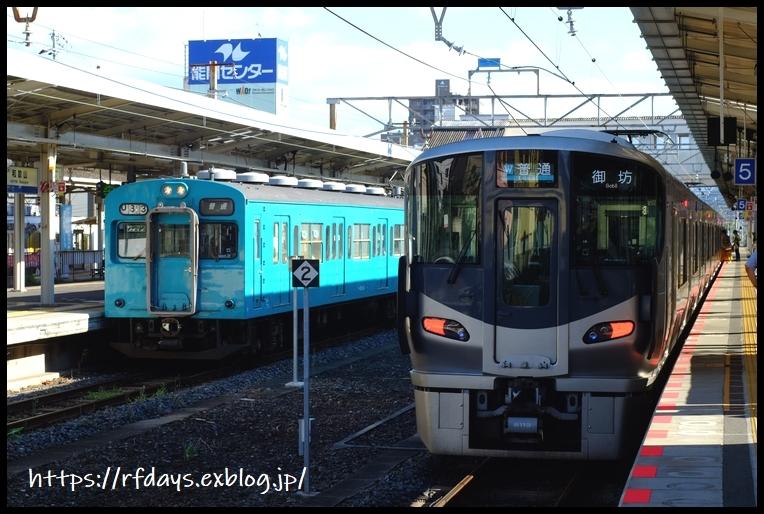 JR西日本 103系・105系探訪記(9/16・祝、その2)_f0139991_22045862.jpg