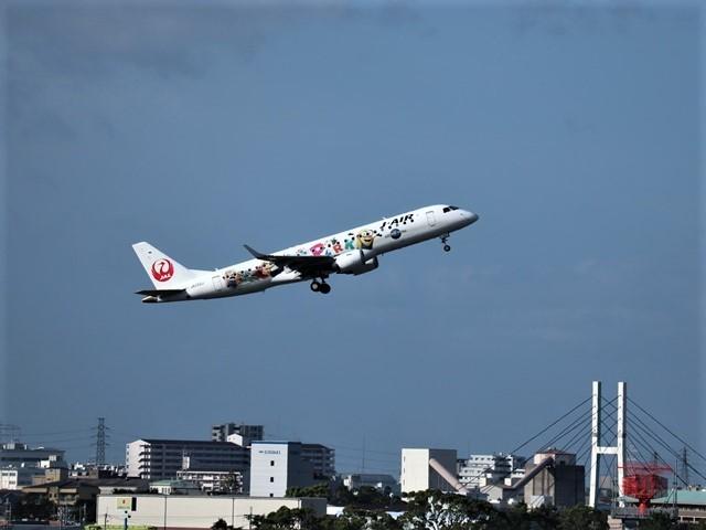 藤田八束の楽しい飛行場@伊丹空港が一段と楽しくなりました。楽しいラッピング飛行機・・・子供達大喜び_d0181492_06323590.jpg