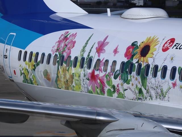 藤田八束の楽しい飛行場@伊丹空港が一段と楽しくなりました。楽しいラッピング飛行機・・・子供達大喜び_d0181492_06332492.jpg