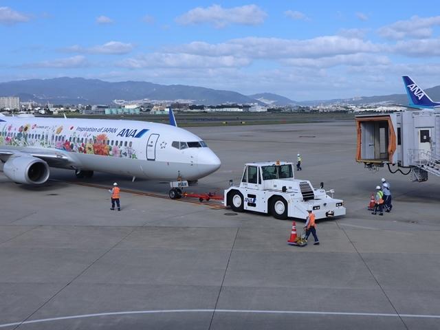 藤田八束の楽しい飛行場@伊丹空港が一段と楽しくなりました。楽しいラッピング飛行機・・・子供達大喜び_d0181492_06335218.jpg