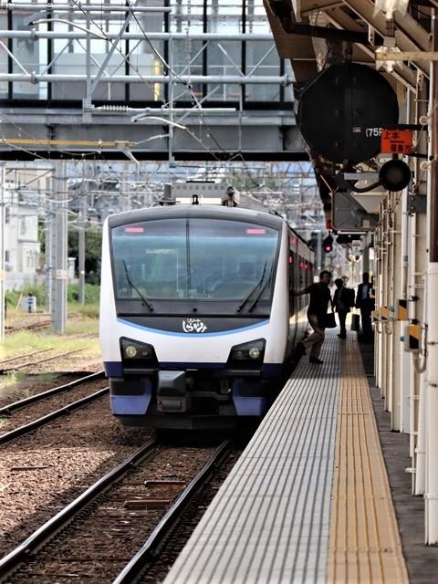 藤田八束の鉄道写真@弘前駅からの鉄道写真、奥羽線通勤通学列車は元気いっぱい、リゾート「しらかみ」は楽しげな家族たち、駅には楽しめる展示品がいっぱいです。おもてなしの駅弘前にて_d0181492_07335794.jpg
