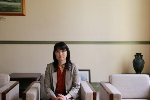 山形大学産業研究所 事務局長 高橋 由紀子様が来館_c0075701_12330639.jpg