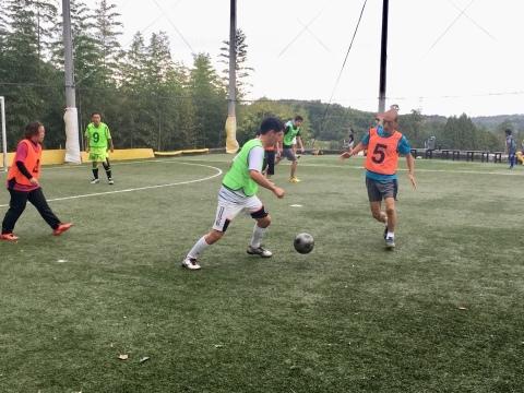 ゆるUNO 9/23(月・祝) at UNOフットボールファーム_a0059812_18013789.jpg