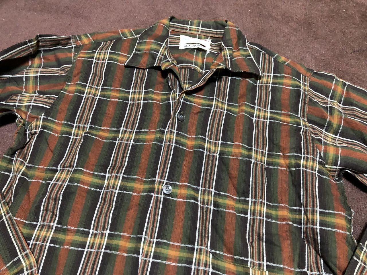 アメリカ仕入れ情報#42 60s E&W オープンカラー、ボックスシャツ!_c0144020_13252033.jpg