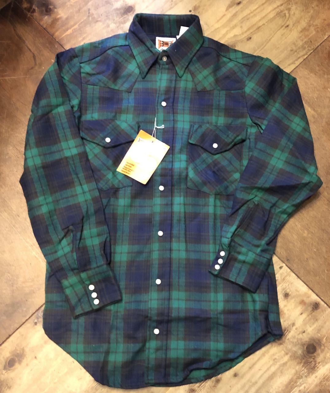 アメリカ仕入れ情報#45 80s デッドストック BAR-F コットンフランネルシャツ!_c0144020_17471701.jpg