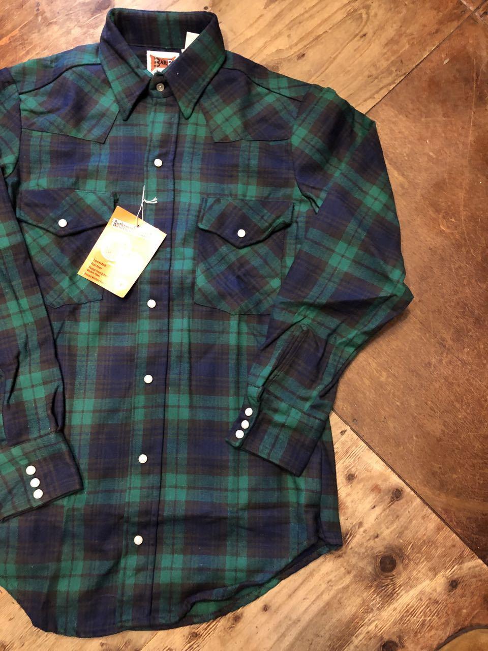 アメリカ仕入れ情報#45 80s デッドストック BAR-F コットンフランネルシャツ!_c0144020_17472066.jpg