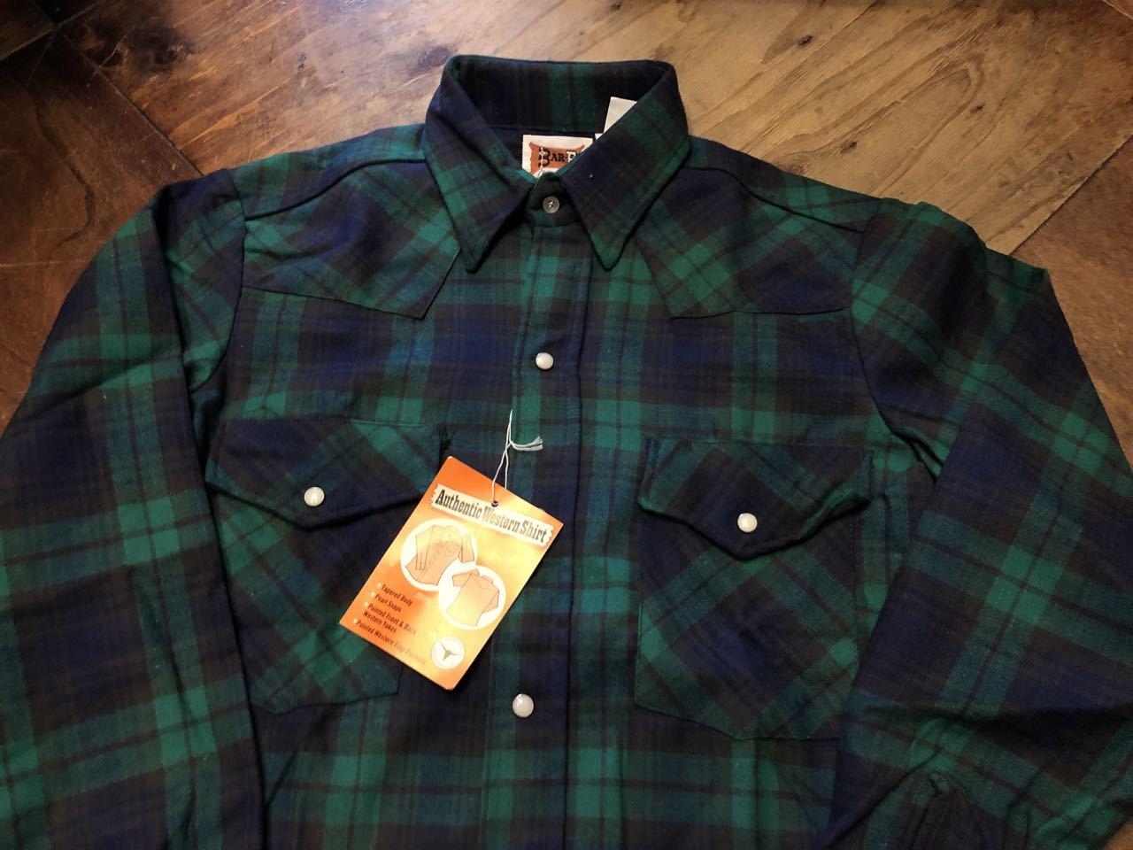 アメリカ仕入れ情報#45 80s デッドストック BAR-F コットンフランネルシャツ!_c0144020_17472199.jpg