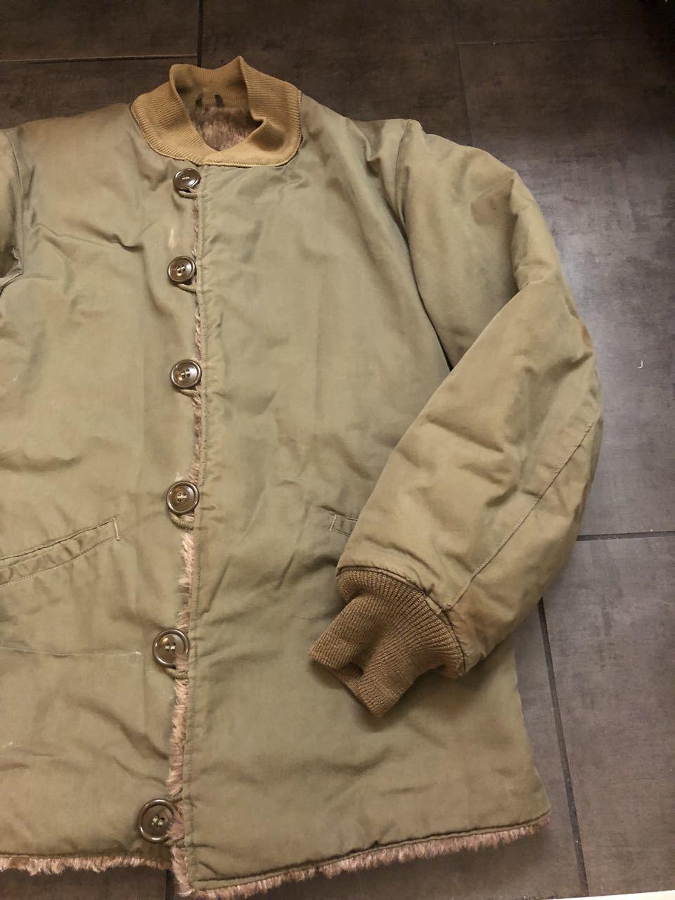 アメリカ仕入れ情報#47 M-1943 40\'s US.ARMY  ライナー アルパカ パイルジャケット_c0144020_18003680.jpg