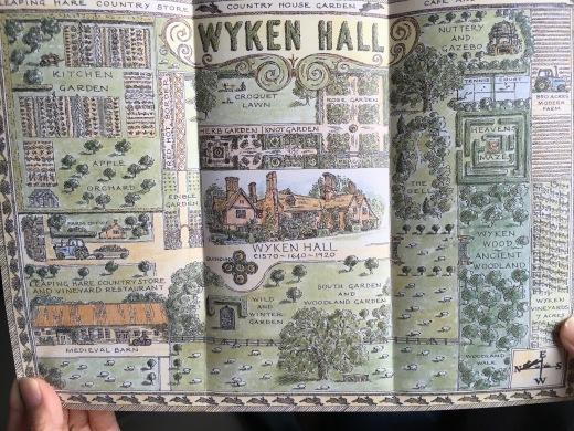 イギリスの旅3日目 ガーデンツアー 2日目 Wyken Vineyardsその1_e0194723_22031210.jpeg