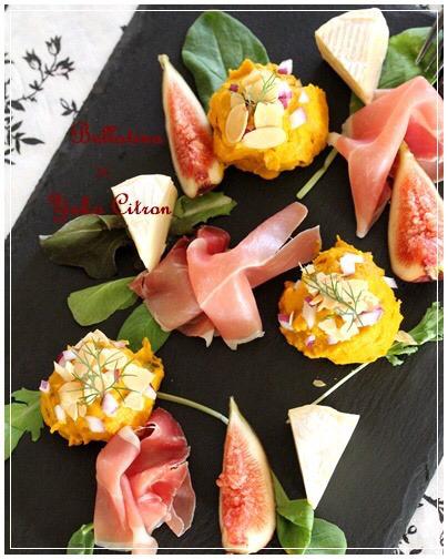 ワインに合うレシピ公開 カボチャのサラダ_c0141025_17464042.jpg