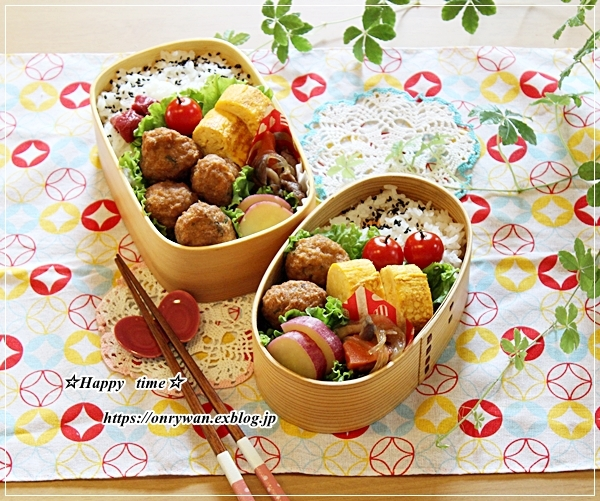 肉団子弁当と長女へプレゼント♪_f0348032_16513340.jpg